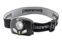Browning Maxus Headlamp LED with 3 AAA Batteries Polymer Black