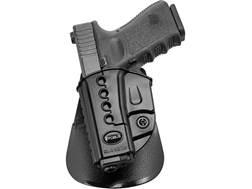 Fobus Evolution Belt Holster Left Hand Glock 26, 27, 33 Polymer Black