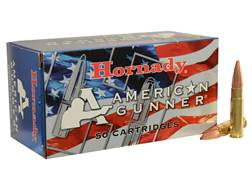 Hornady American Gunner Ammunition 300 AAC Blackout 125 Grain Hollow Point Boat Tail Box of 50