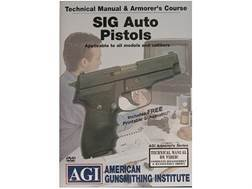 "American Gunsmithing Institute (AGI) Technical Manual & Armorer's Course Video ""Sig Sauer Auto Pi..."