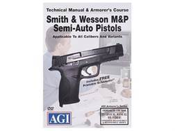 "American Gunsmithing Institute (AGI) Technical Manual & Armorer's Course Video ""Smith & Wesson M&..."