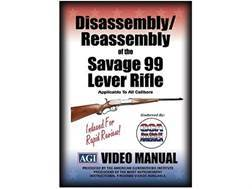 "American Gunsmithing Institute (AGI) Disassembly and Reassembly Course Video ""Savage Arms 99 Leve..."