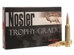 Nosler Trophy Grade Ammunition 270 Weatherby Magnum 150 Grain AccuBond Long Range Box of 20