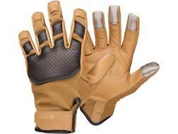 5.11 Tac-NF02 Gloves Nomex and Goatskin Medium Coyote- Blemished