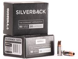 Gorilla Silverback Self Defense Ammunition 9mm Luger 115 Grain Hollow Point Copper-Lead Free