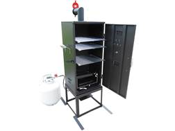 King Kooker 3-Rack High Pressure Propane Smoker
