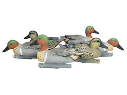 Duck Commander Foam Filled Green Wing Teal Duck Decoy Pack of 6