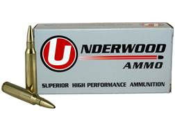 Underwood Ammunition 223 Remington 55 Grain Lehigh Controlled Chaos Lead-Free Box of 20