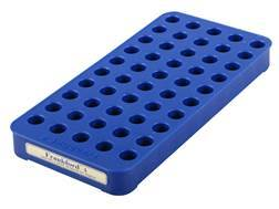 Frankford Arsenal Perfect Fit Reloading Tray #4 38 Special, 357 Magnum, 7.62x39mm 50-Round Blue