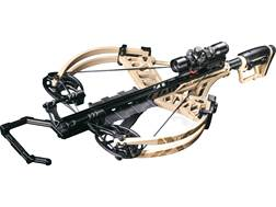 Bear Archery Fisix Crossbow Package with Illuminated Scope Sand