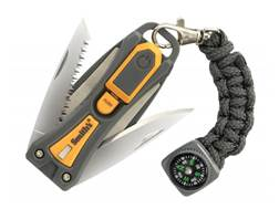 Smith's Pack Pal 10-N-1 Outdoor Multi-Tool Polymer Handle Gray/Yellow