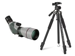 Vortex Optics Razor HD Spotting Scope Combo 20-60x 85mm Angled Body Green with Pro GT Tripod Kit