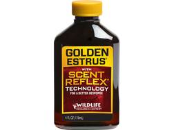 Wildlife Research Center Super Charged Golden Estrus with Scent Reflex Technology Deer Scent Liquid