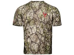 Badlands Men's Algus Crew Base Layer Shirt Short Sleeve Polyester Approach Camo
