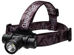 Browning Blackout Headlamp LED with 2 CR123A Batteries Aluminum Black
