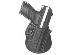 Paddle Holster Right Hand Hi-Point 380 ACP, Bersa BPCC 380 ACP, 9mm, 40 S&W Polymer Black