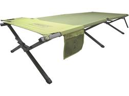 Coleman Trailhead Easy Step Camp Cot Polyester and Steel Green