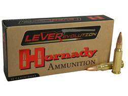 Hornady LEVERevolution Ammunition 338 Marlin Express 200 Grain Flex Tip eXpanding Box of 20
