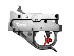 Timney Adjustable Trigger Guard Assembly Ruger 10/22 2-3/4 lb Aluminum Red Trigger