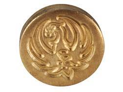 Ruger Pistol Grip Cap Medallion Ruger M77 Mark II Magnum, Number 1 All Models Brass