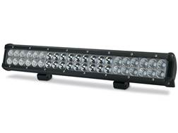 Cyclops C3B Series Dual Row LED Bottom Mount Light Bar with Mounting Brackets Aluminum Black