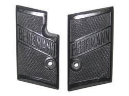 Vintage Gun Grips Bergmann 2A 25 ACP Polymer Black