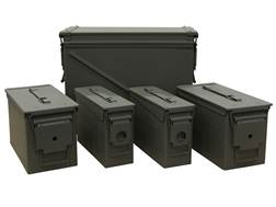 Mil-Spec Ammo Cans 20mm, 50 Caliber and 30 Caliber Combo Pack