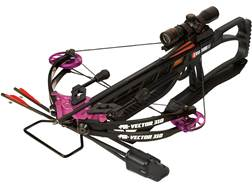 PSE Vector 310 Crossbow Package with 3x Scope Black and Purple