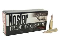 Nosler Trophy Grade Ammunition 270 Winchester Short Magnum (WSM) 150 Grain AccuBond Long Range Bo...