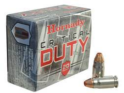 Hornady Critical Duty Ammunition 357 Sig 135 Grain FlexLock Box of 20