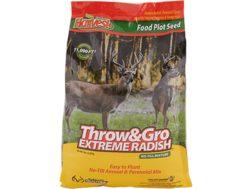Evolved Harvest Bone Collector Throw and Gro Radish X-Treme Food Plot Seed 5 lb