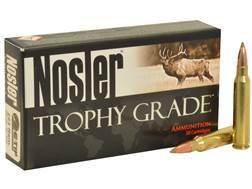Nosler Trophy Grade Ammunition 223 Remington 55 Grain E-Tip Varmint Lead-Free Box of 20