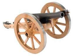 "Traditions Mini Napoleon III Black Powder Cannon Kit 50 Caliber 7.25"" Steel Barrel Hardwood Carriage"