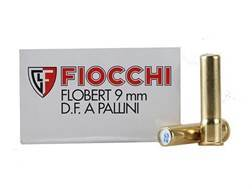 Fiocchi Specialty Ammunition 9mm Rimfire (Flobert) #8 Shot Shotshell Box of 50