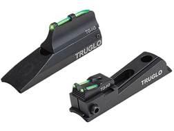 TRUGLO TFO Muzzle Bright Xtreme Muzzleloader Universal Sight Set Tritium / Fiber Optic Standard F...