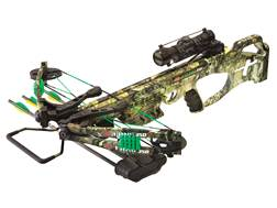 PSE Fang 350 XT Crossbow Package with 4x32 Multi-Reticle Scope Mossy Oak Break-Up Country Camo