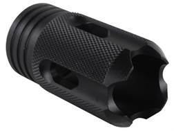 DoubleStar Saiga Enforcer Muzzle Brake M22x7.5 Thread Saiga 12 Gauge Steel Matte
