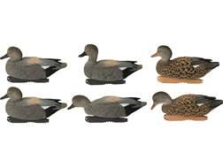 GHG FFD Pro-Grade Gadwall Duck Decoy Pack of 6