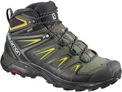 "Salomon X Ultra 3 Mid GTX 6"" Waterproof GORE-TEX Hiking Boots Leather/Synthetic Men's"