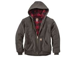 Carhartt Men's Huntsman Active Insulated Jacket Washed Duck Gravel XL