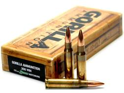 Gorilla Ammunition 308 Winchester 175 Grain Sierra MatchKing Hollow Point Boat Tail