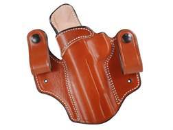 DeSantis Mad Max Tuckable Inside the Waistband Holster Left Hand 1911 Government Leather Tan