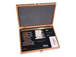 Winchester 30-Piece Universal Gun Cleaning Kit in Wood Case