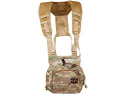 Alaska Guide Creations Denali ROK7 Binocular Case with Hook and Bungee System Multicam