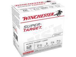 """Winchester Super-Target Ammunition 12 Gauge 2-3/4"""" 1-1/8 oz #7-1/2 Shot"""