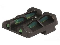 HIVIZ LITEWAVE Rear Sight Springfield Armory XD and XDM Steel Fiber Optic Red, Green, White