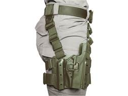 BLACKHAWK! Tactical Serpa Level 2 Thigh Holster Right Hand 1911 Government with or without Rail P...