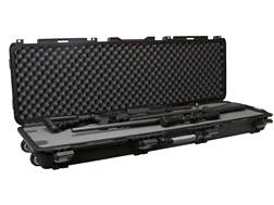"Plano Military Spec Field Locker Double Rifle Case with Wheels 56-1/4"" x 18"" x 7-1/4"" Polymer Black"