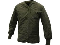 Military Surplus Flyer's Jacket Liner Grade 1 Olive Drab Small Short