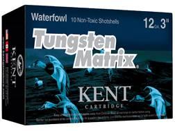 """Kent Cartridge Tungsten Matrix Waterfowl Ammunition 12 Gauge 3"""" 1-1/4 oz #3 Tungsten Non-Toxic Shot"""